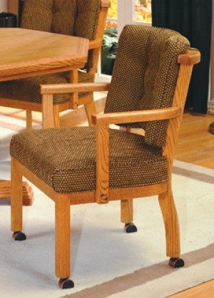 I.M. David 1506 Caster Dining Chair