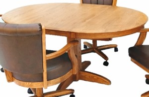 Chromcraft Furniture T250-607 Solid Wood Dining Table