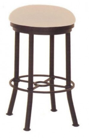 "Callee Burnet 26"" Swivel Backless Bar Stool"