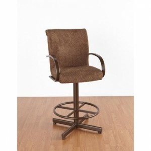 "Tempo Like Durango Swivel 34"" Durant Bar Stool by Callee"