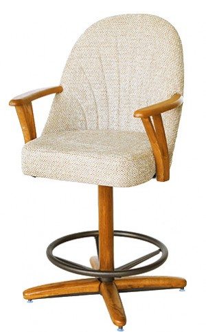Chromcraft C127-334 26 Swivel Bar Stool
