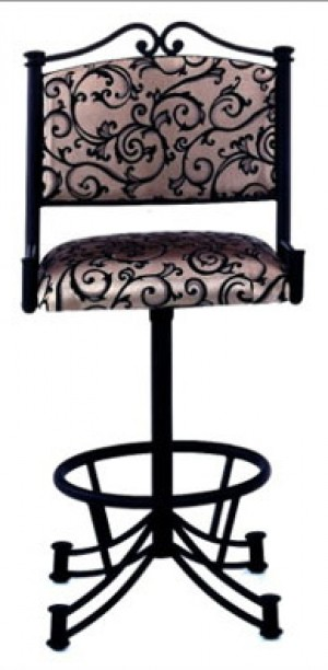 "Tempo Like Sonora 26"" Seattle Swivel Wide Body Bar Stool by Callee"
