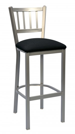"Commercial Jailhouse Metal 30"" Bar Stool"