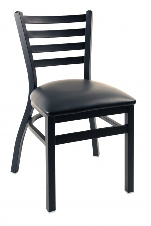 Commercial Ladder Back Nesting Metal Dining Chair