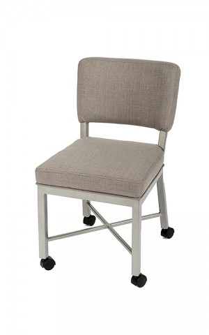 Wesley Allen Miami Caster Dining Chair