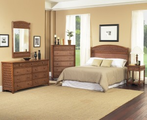 Classic Rattan Monte Carlo Bedroom Set