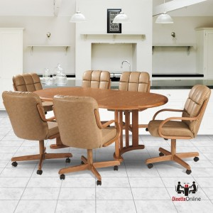 Douglas Casual Living Natasha 7 PC Caster Dining Set