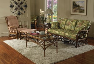 Classic Rattan Orchard Park 5PC Living Room Set