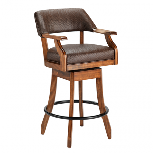 "Darafeev Patriot 30"" Swivel Club Bar Stool"