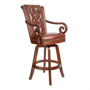 "Darafeev Pizarro 30"" Swivel Bar Stool"