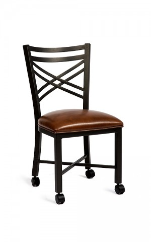 Wesley Allen Raleigh Caster Dining Chair