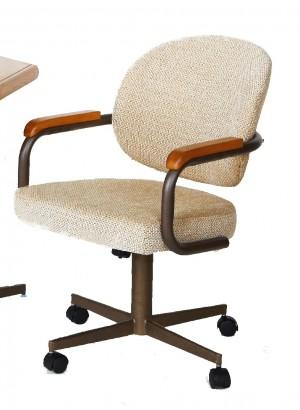 Douglas Casual Living Shannon Swivel Tilt Caster Chair Set of 2