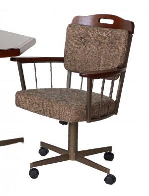 Douglas Casual Living Sharon Swivel Caster Dinette Chair Set of 2