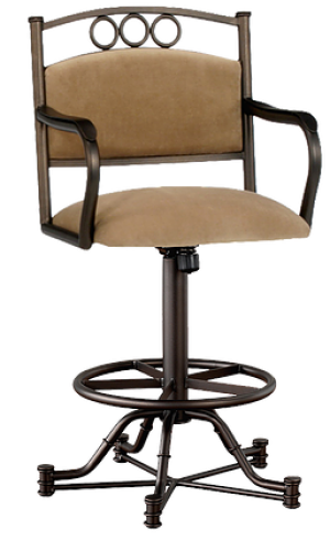 "Tempo Callee Winford 26"" Swivel Tilt Bar Stool"