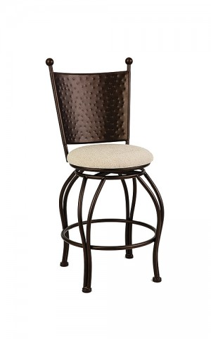 "Wesley Allen Woodland 30"" Swivel Bar Stool"