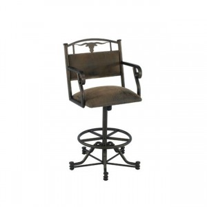 "Callee Wrangler 26"" Swivel Tilt Bar Stool"