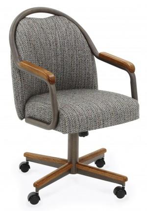 Chromcraft Zip C188-845 Swivel Tilt Caster Chairs