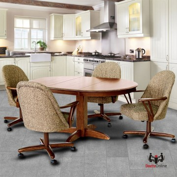 Chromcraft C127-936 and T250-607 Table Dinette Set